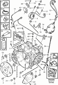 Volvo transmission AW55-50
