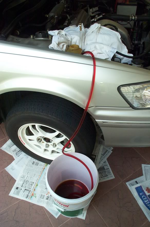 How to flush Power Steering Pump - Volvo Forums