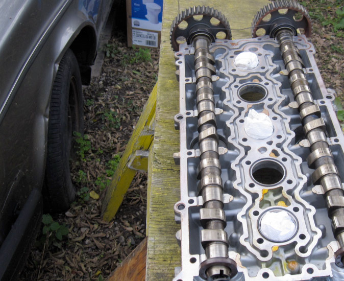 Engine Rebuild - head off
