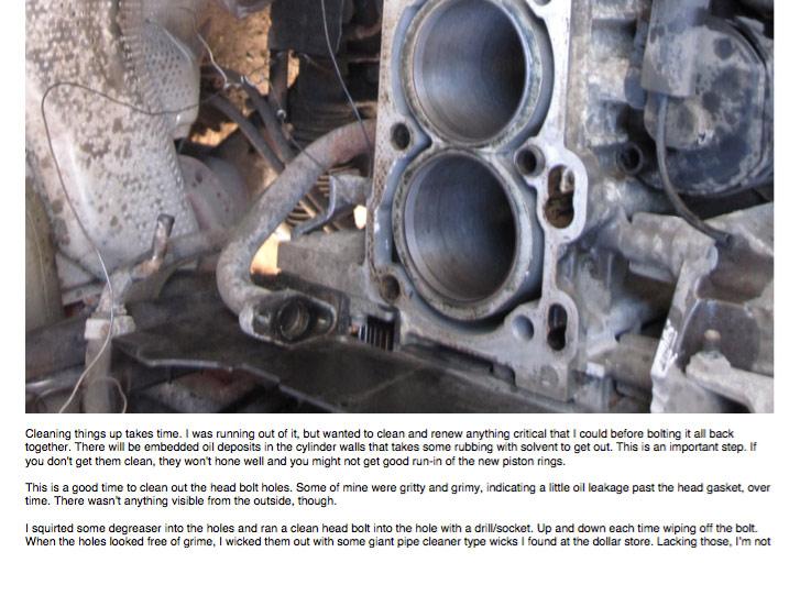 Engine Rebuild Tutorial PDF