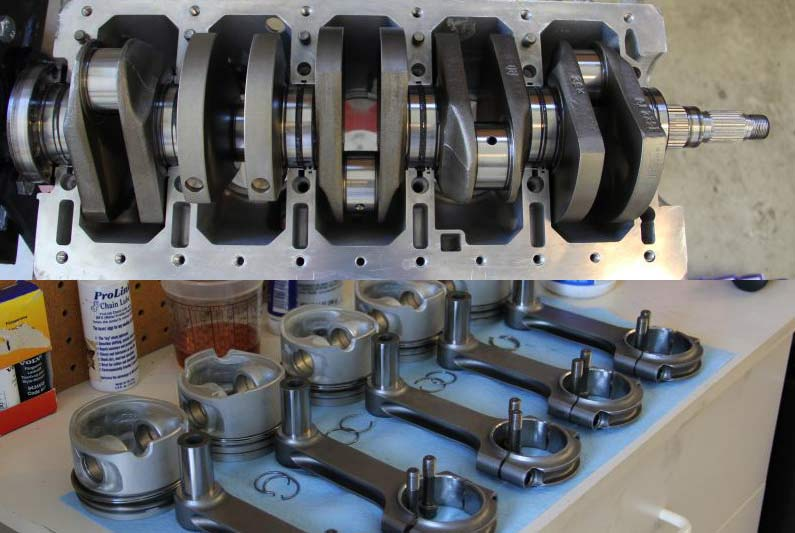 Parts For Rebuilding A Volvo 5 Cylinder Engine