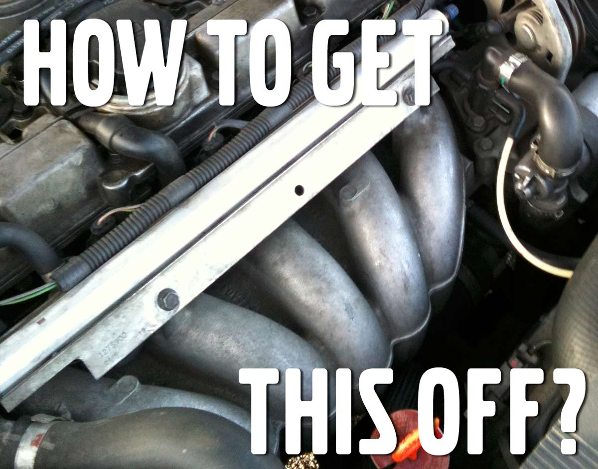 How to Remove Intake Manifold