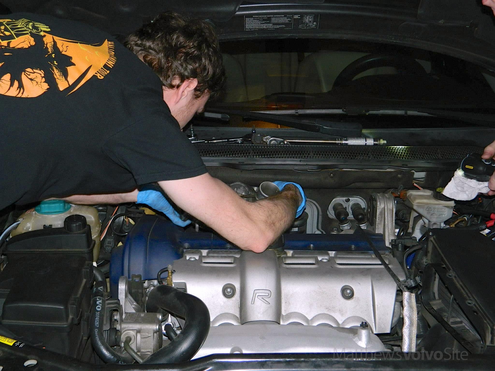 RZ Design turbo install on S60R - Volvo Forums