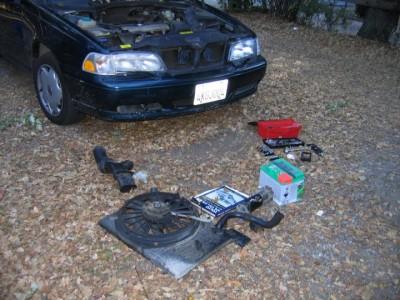 Replacing the Starter Motor