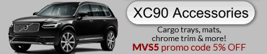 Volvo XC90 accessories, parts and gifts