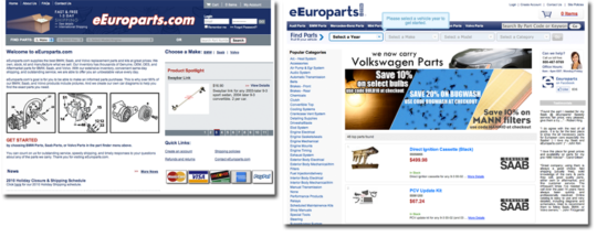 MVS Sponsor eEuroparts Launches New Site