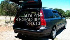 Volvo P2 R 90k Service Item Checklist -
