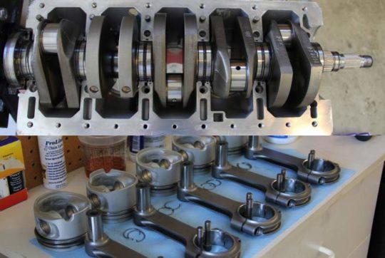 rebuilding a volvo 5 cylinder