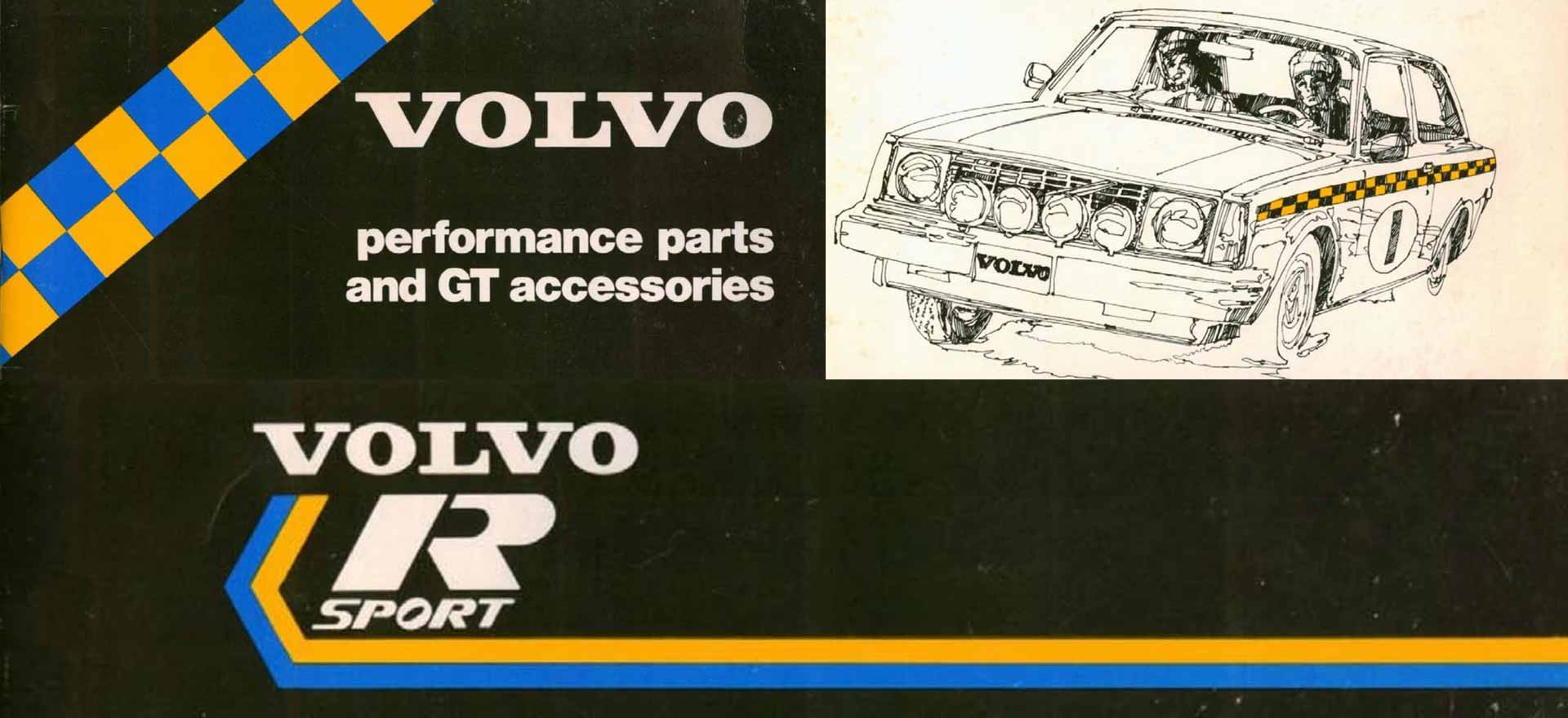 Volvo Rsport Parts Catalog 1979 -