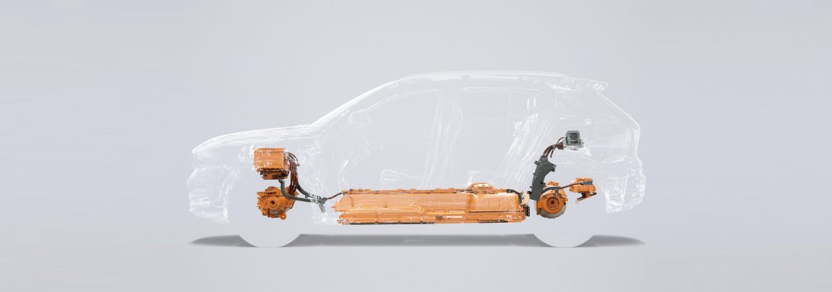 258133 The Fully Electric XC40 Suv Volvo S First Electric Car And One Of The -  Safety, Technology, Corporate, Illustration, Images, Electrification, New XC40, 2019, 2020 XC40