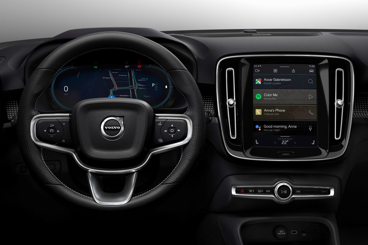 Fully Electric Volvo XC40 Introduces Brand New Infotainment System -  Technology, Corporate, Interior, Images, Connectivity, Electrification, XC40, 2019, 2020 XC40