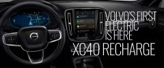 XC40 Recharge Banner -