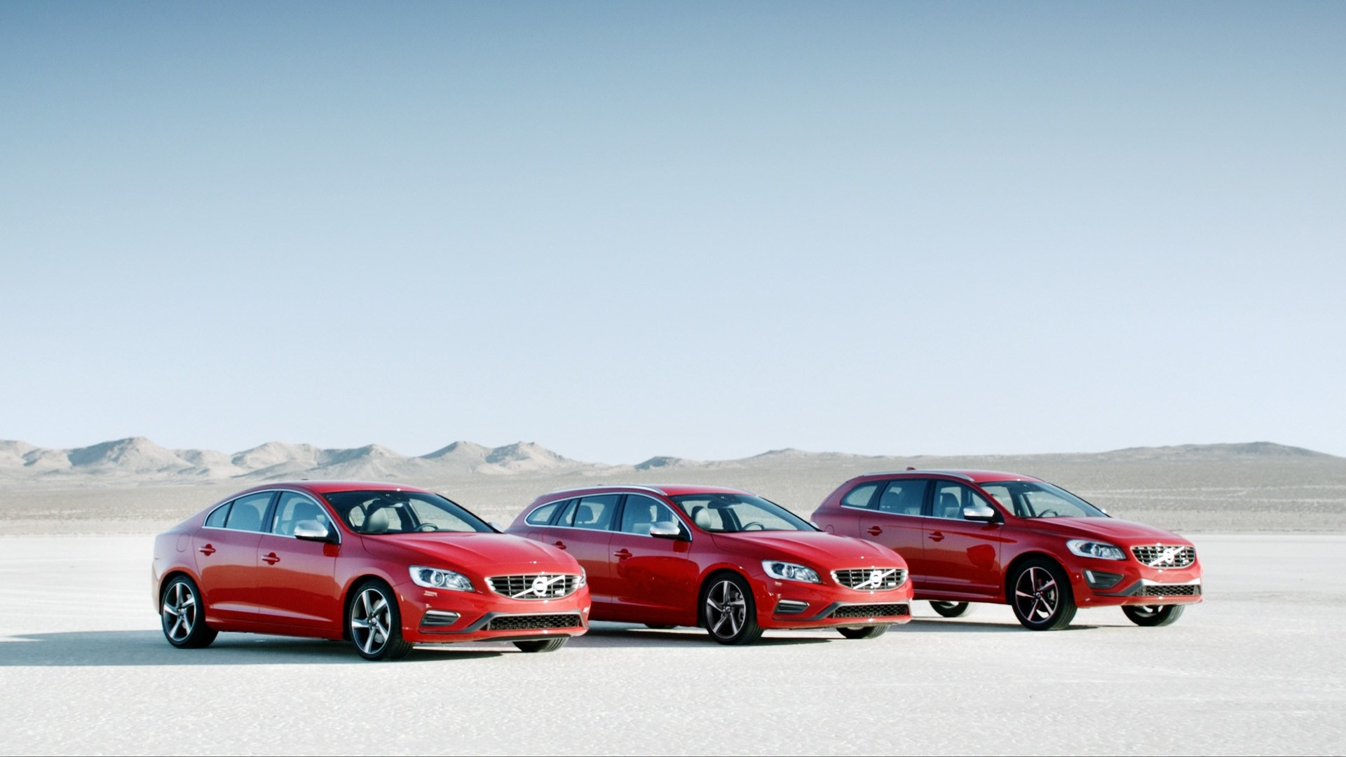 Volvo S60, V50 And XC60 In Red -  Volvo