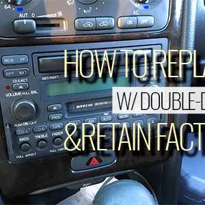 replace sc 900 901 w double din 300x300 1 - How to Replace SC-900, 901 w Aftermarket Double-Din and Retain Factory Amp/Wiring