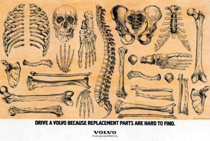 Volvo Bones Ad Replacement Parts -