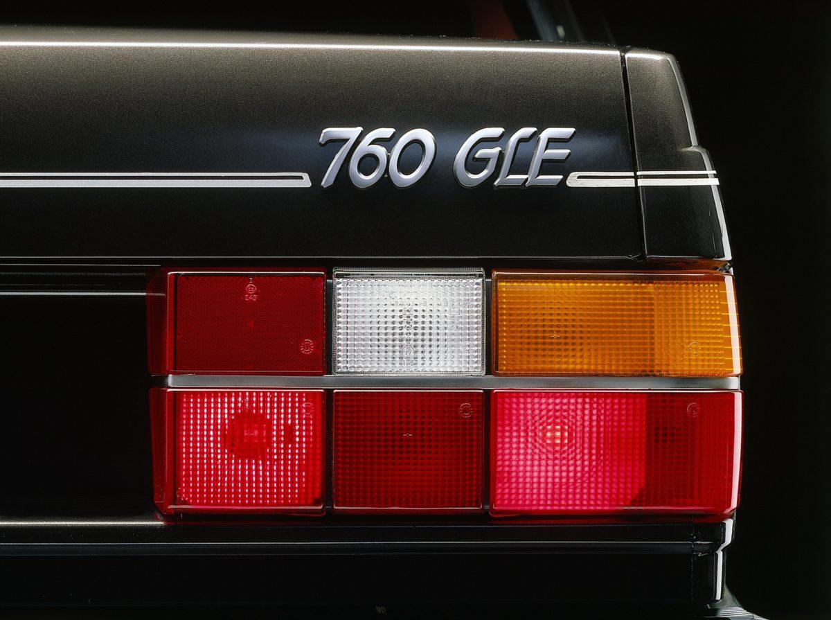 700 series 6084 Volvo 760 Gle -