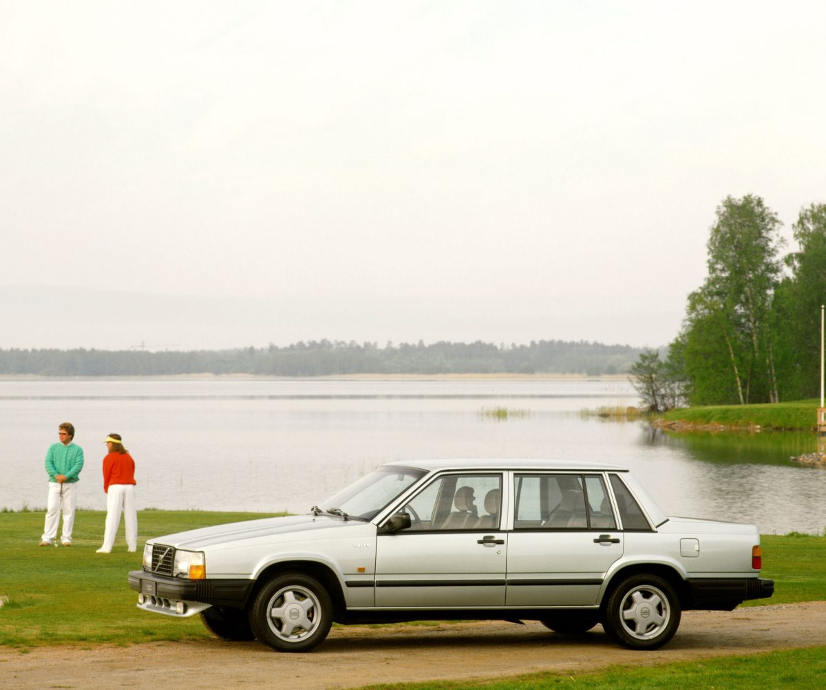 Volvo 740 Turbo -  740,  Historical,  Exterior,  People,  Images,  1988,  2002,  740
