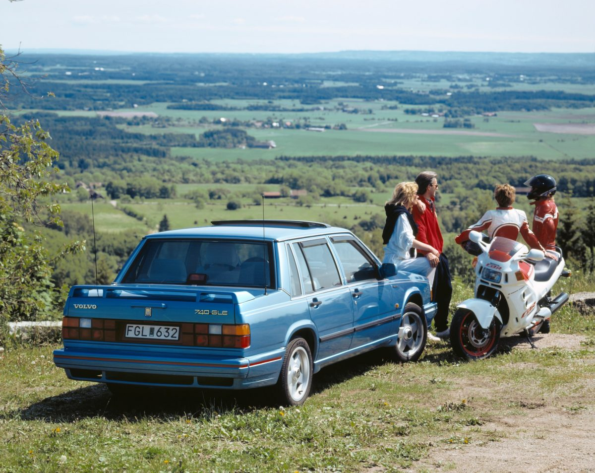 Volvo 740 Gle -  740,  Historical,  Exterior,  People,  Images,  1987,  2002,  740