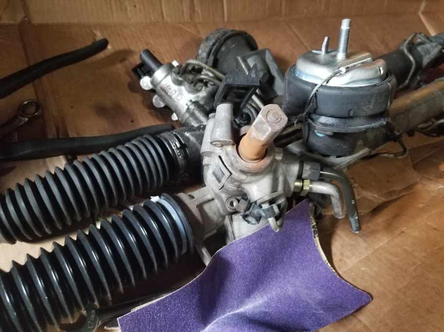 Clean shaft, new motor mount