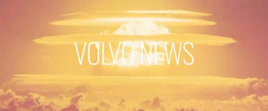 explosion photo -Volvo sales up big August 2020
