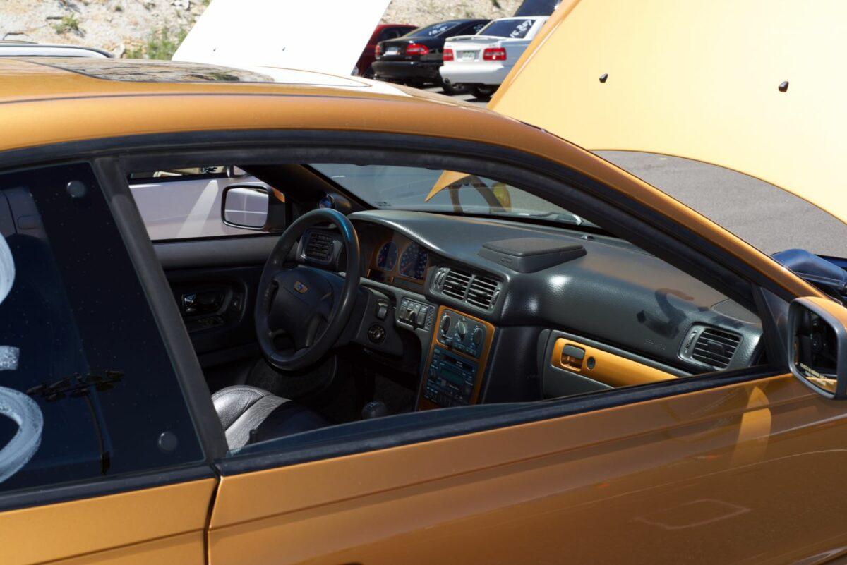 1998 Saffron C70 5-speed, interior