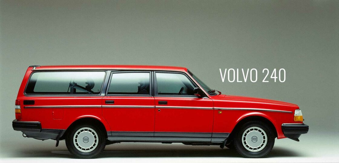 History of the Volvo 240