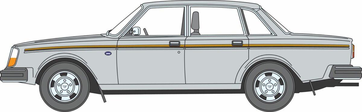 Volvo 240 illustration, side