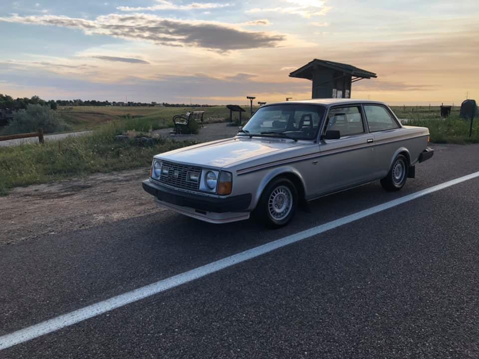 Brett Borders' (Denver) 1979 242 GT