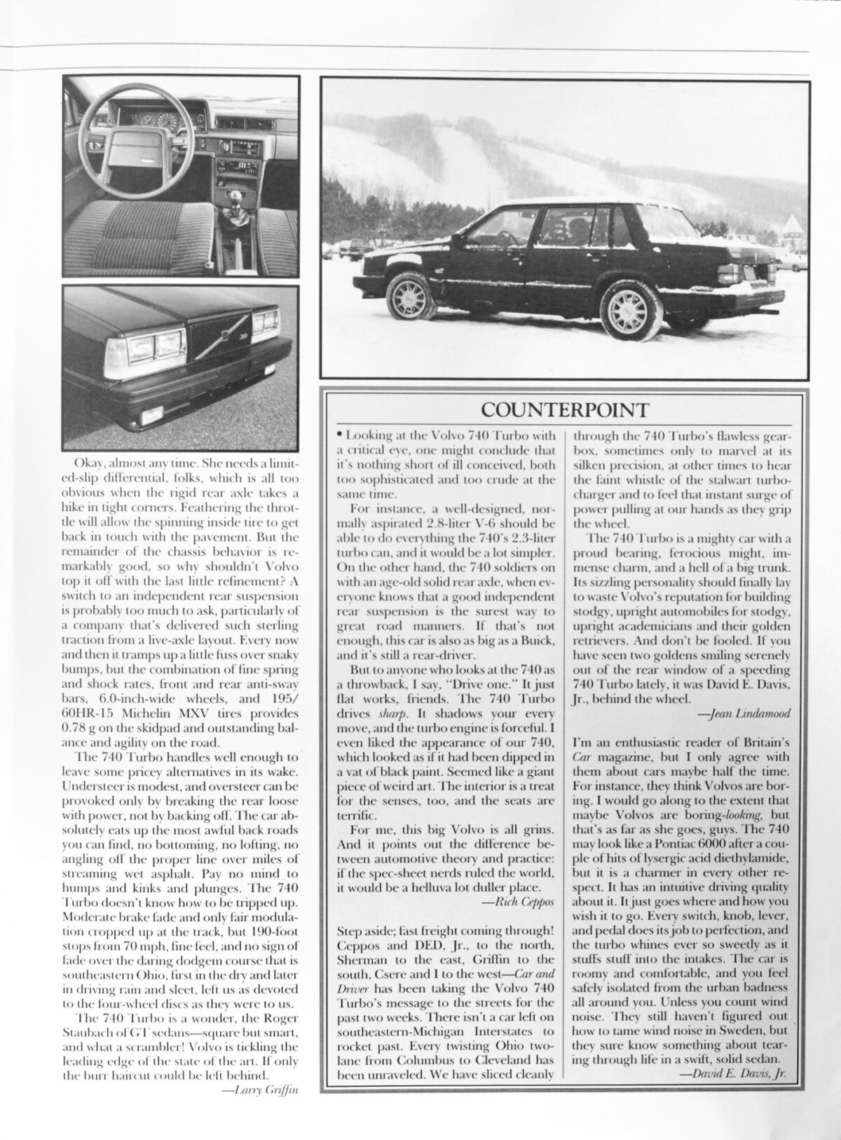Car Driver 740T Road Test 4 of 5