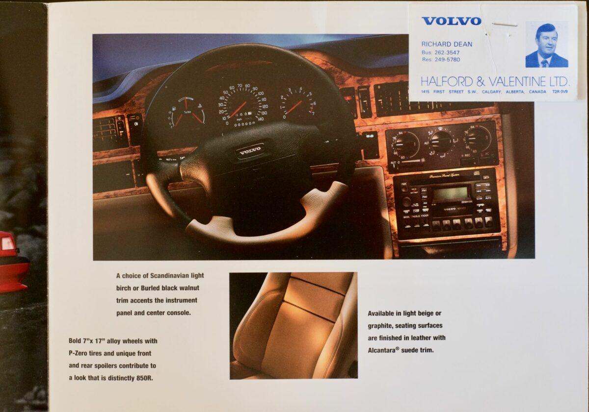 1996 850 R Brochure 1
