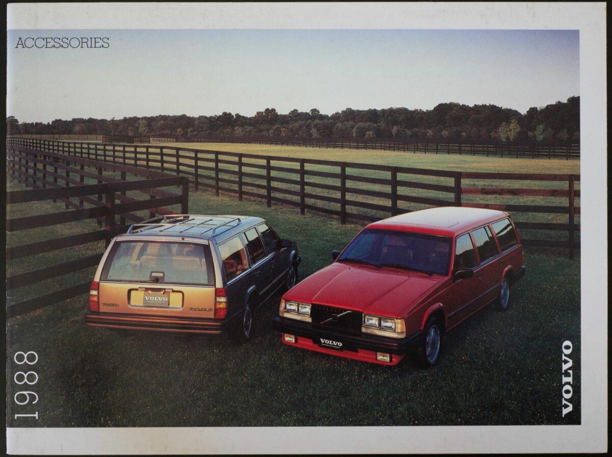 1988 Volvo Accessories Catalog
