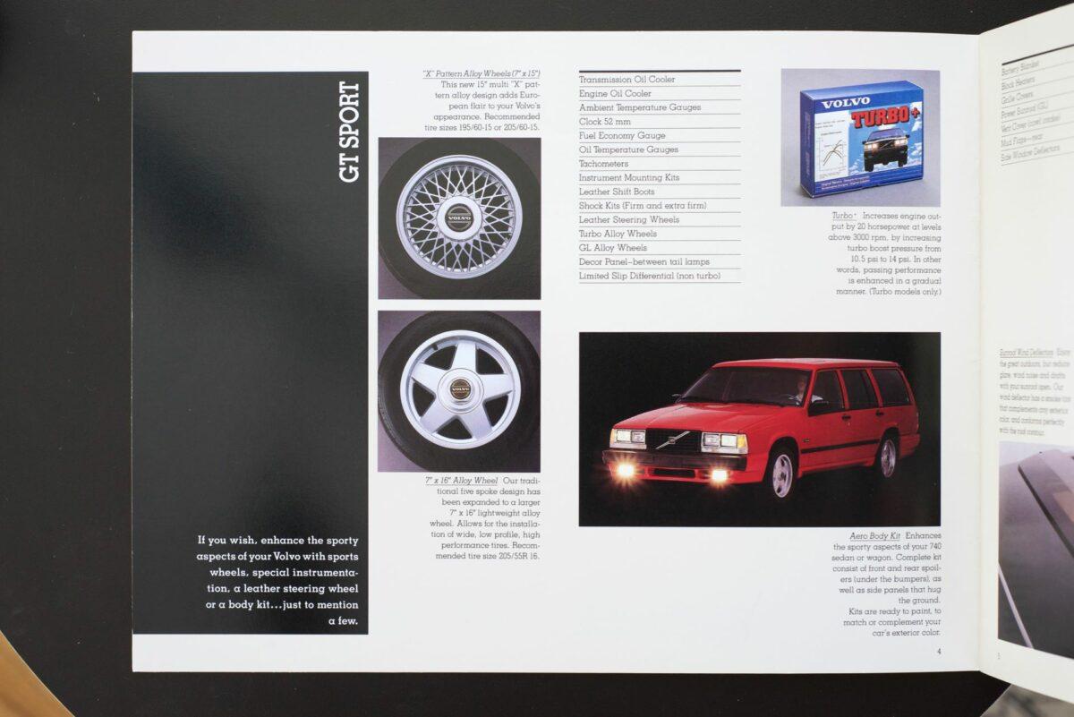 1988 Volvo Accessories Catalog 18