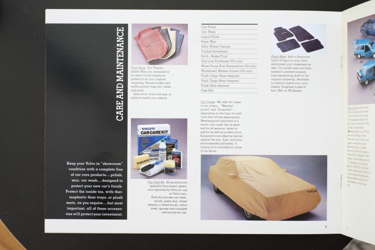 1988 Volvo Accessories Catalog 17