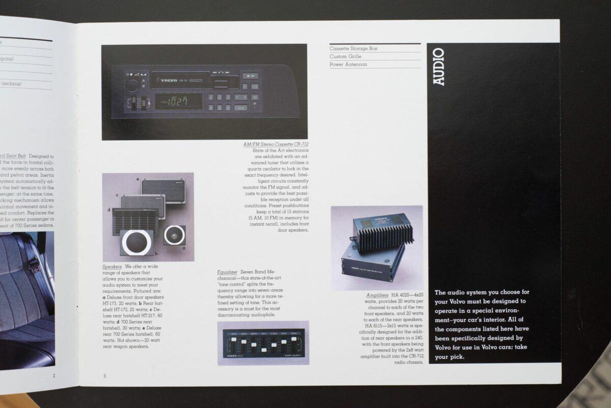 1988 Volvo Accessories Catalog 14