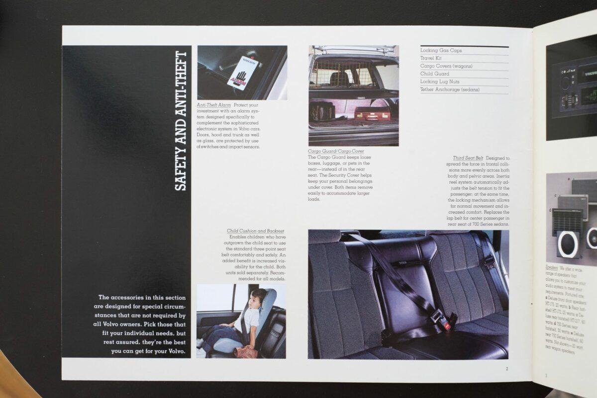 1988 Volvo Accessories Catalog 12