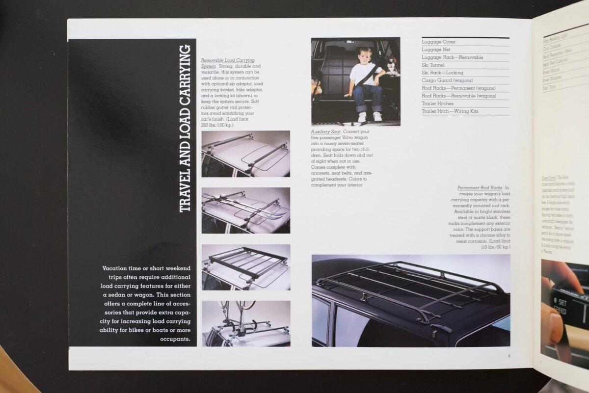 1988 Volvo Accessories Catalog 11