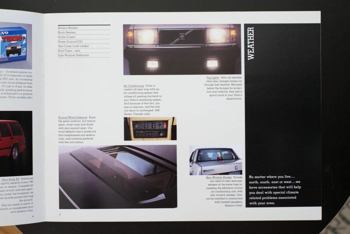 1988 Volvo Accessories Catalog 6