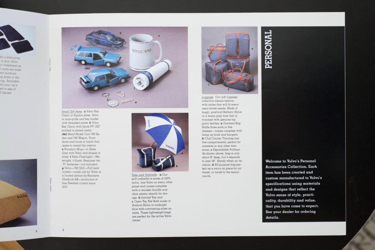 1988 Volvo Accessories Catalog 4