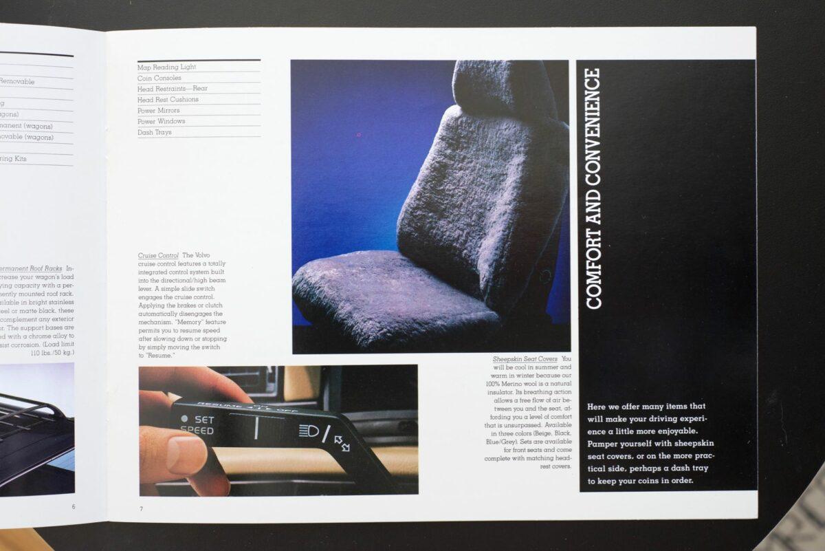 1988 Volvo Accessories Catalog 2