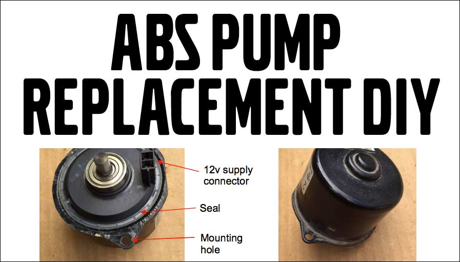 ABS Pump Replacement DIY for 2001-2009 S60