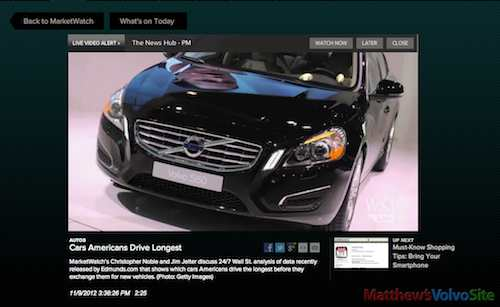 Americans drive Volvos longest