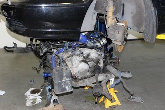 ARD's bare metal S70 build photo 1