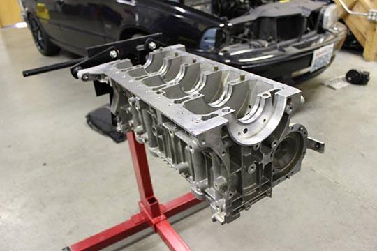 ARD's bare metal S70 build photo 11