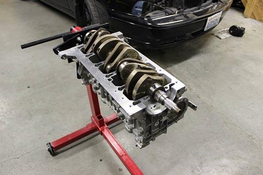 ARD's bare metal S70 build photo 12