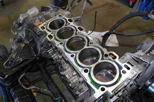 ARD's bare metal S70 build photo 4