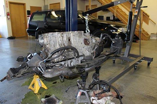 ARD's bare metal S70 build photo 5