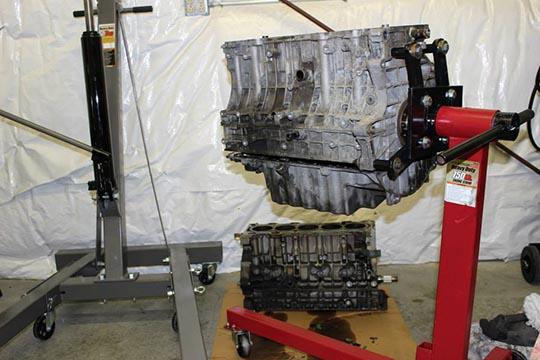 ARD's bare metal S70 build photo 6