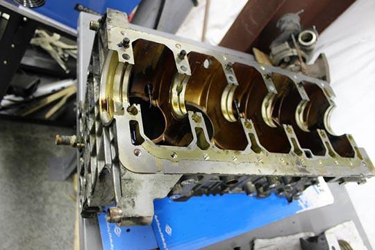 ARD's bare metal S70 build photo 8