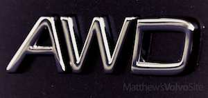 Volvo AWD