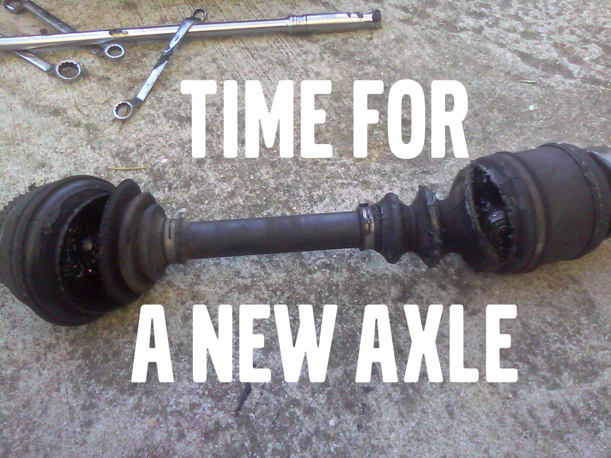 time for A Rebuilt Axle